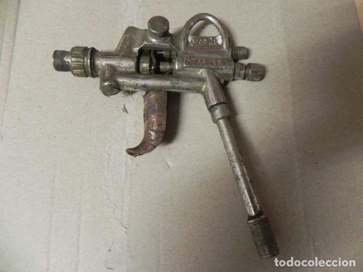 Antigüedades: AEROGRAFO TIPO 28 Nº GS 40 / FINALES 1800 PRINCIPIO 1900 / PISTOLA PINTAR /VER FOTOS - Foto 16 - 171712925