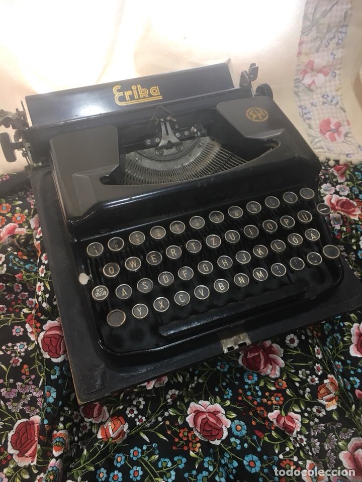 Antigüedades: Maquina escribir Erika - Foto 3 - 171716203