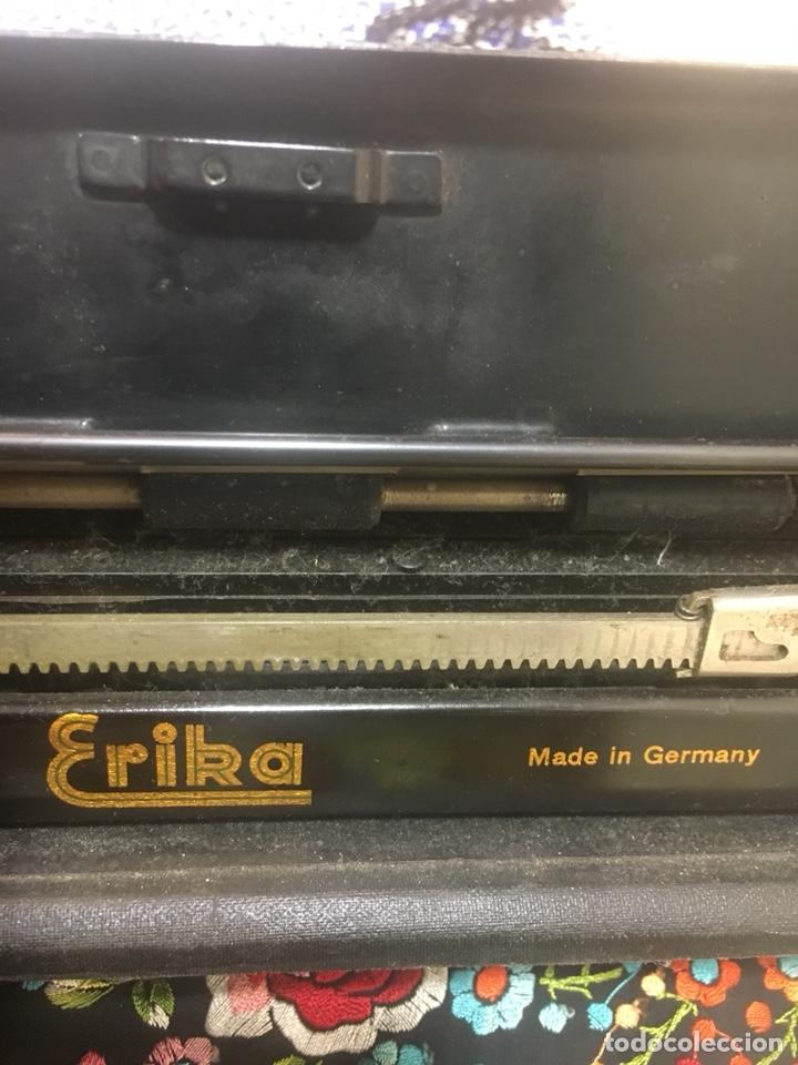Antigüedades: Maquina escribir Erika - Foto 4 - 171716203