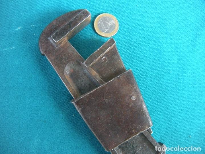 ANTIGUA LLAVE TIPO INGLESA (Antigüedades - Técnicas - Herramientas Profesionales - Mecánica)