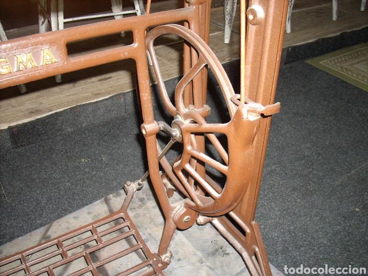 Antigüedades: Antigua Maquina de Coser SIGMA, en muy buen estado y Funcionando - Foto 7 - 171735019