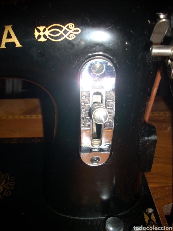 Antigüedades: Antigua Maquina de Coser SIGMA, en muy buen estado y Funcionando - Foto 11 - 171735019