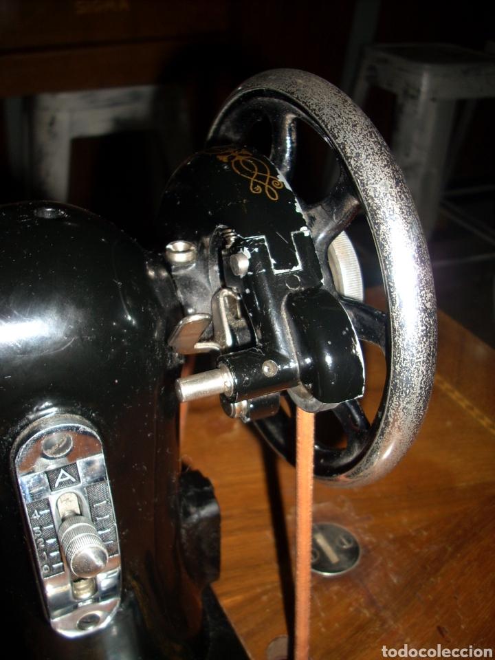 Antigüedades: Antigua Maquina de Coser SIGMA, en muy buen estado y Funcionando - Foto 12 - 171735019