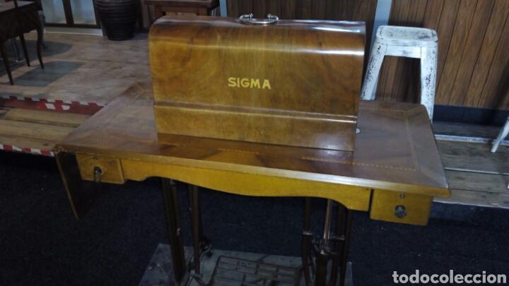 Antigüedades: Antigua Maquina de Coser SIGMA, en muy buen estado y Funcionando - Foto 16 - 171735019