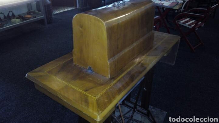 Antigüedades: Antigua Maquina de Coser SIGMA, en muy buen estado y Funcionando - Foto 17 - 171735019