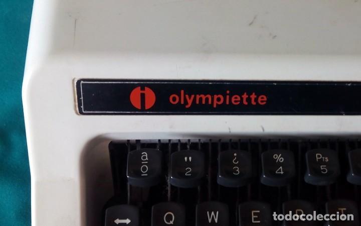Antigüedades: Maquina de escribir - Olympiette de Luxe - Con caja, Maleta - Ver fotos adicionales - Foto 2 - 171739804