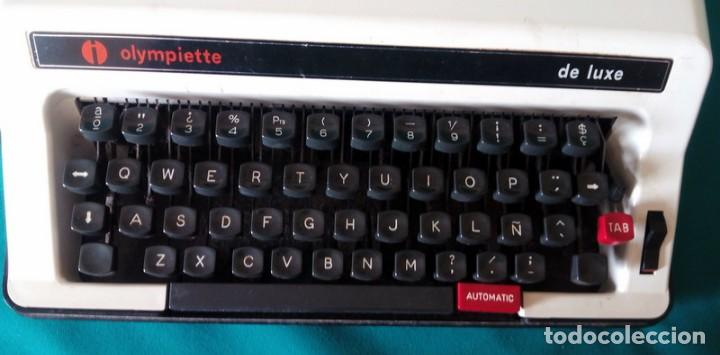 Antigüedades: Maquina de escribir - Olympiette de Luxe - Con caja, Maleta - Ver fotos adicionales - Foto 4 - 171739804