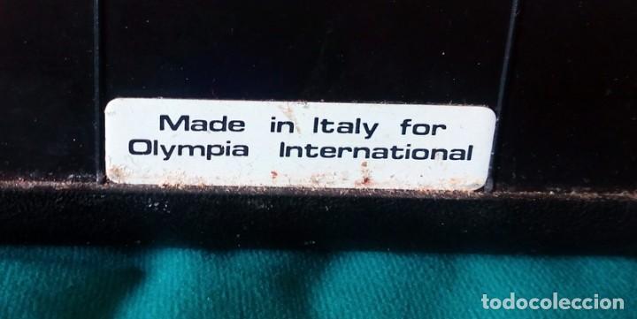 Antigüedades: Maquina de escribir - Olympiette de Luxe - Con caja, Maleta - Ver fotos adicionales - Foto 8 - 171739804
