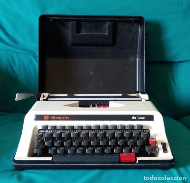Antigüedades: Maquina de escribir - Olympiette de Luxe - Con caja, Maleta - Ver fotos adicionales - Foto 9 - 171739804