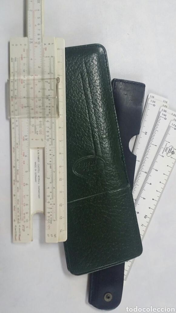 REGLA DE CALCULO FABER CASTELL (Antigüedades - Técnicas - Aparatos de Cálculo - Reglas de Cálculo Antiguas)