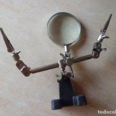 Antigüedades: MAGNIFICA LUPA AÑOS 60 RACO. Lote 172019439