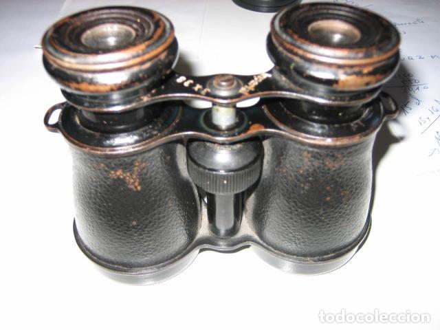 Antigüedades: prismaticos alemanes 3x38 marca imperial. - Foto 3 - 172063530