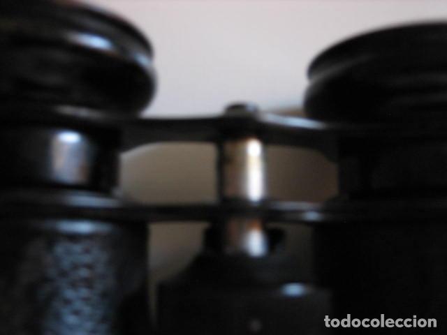 Antigüedades: prismaticos alemanes 3x38 marca imperial. - Foto 2 - 172063530