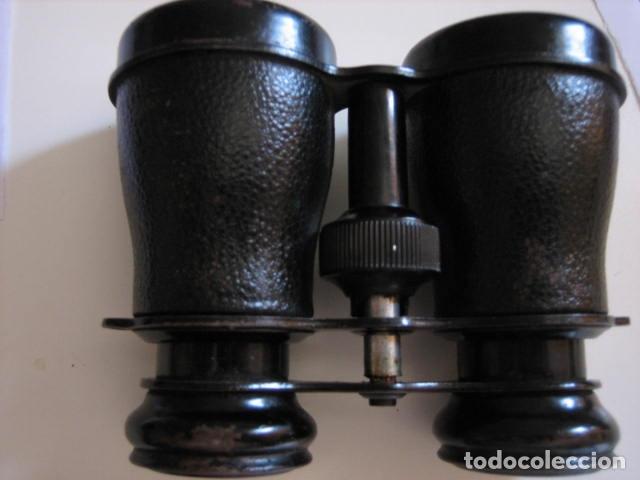 Antigüedades: prismaticos alemanes 3x38 marca imperial. - Foto 5 - 172063530