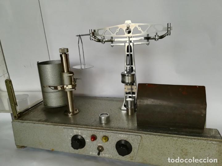 BALANZA - GRANATARIO DE LABORATORIO. ELECTRICA PROLABO (Antigüedades - Técnicas - Herramientas Profesionales - Medicina)