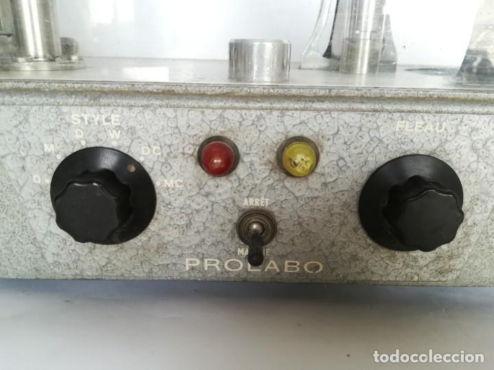 Antigüedades: BALANZA - GRANATARIO DE LABORATORIO. ELECTRICA PROLABO - Foto 3 - 172080645