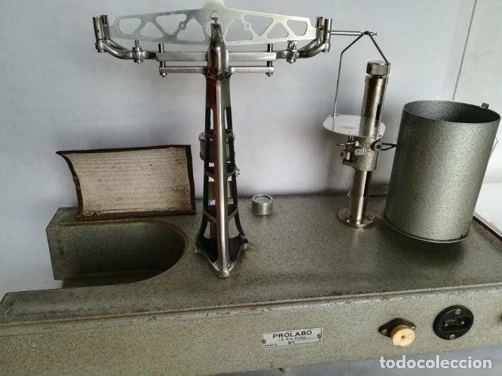 Antigüedades: BALANZA - GRANATARIO DE LABORATORIO. ELECTRICA PROLABO - Foto 12 - 172080645