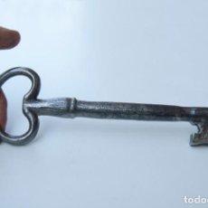 Antigüedades: M5.- ANTIGUA Y RARA LLAVE DE FORJA MUY GRANDE. MIDE 20 CM.. Lote 172089648