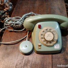 Teléfonos: TELÉFONO ESTILO HERALDO, EN COLOR AZUL - FABRICADO EN CITESA, MÁLAGA. Lote 172131314