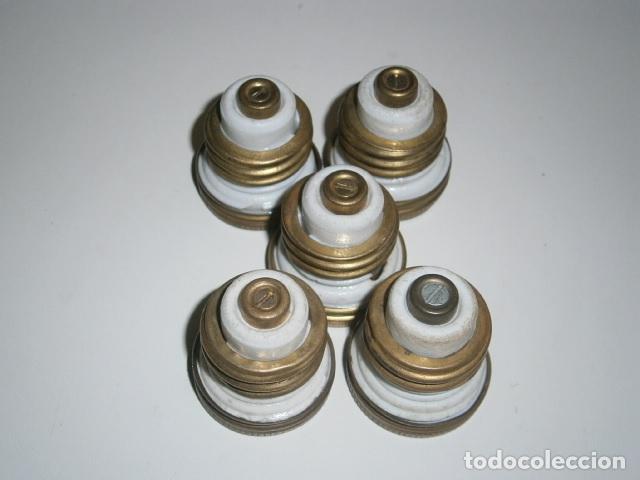 Antigüedades: lote fusibles de porcelana - Foto 2 - 172270810