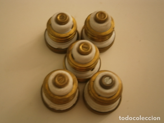 Antigüedades: lote fusibles de porcelana - Foto 3 - 172270810