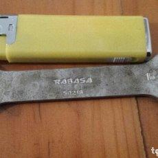 Antigüedades: LLAVE FIJA RABASA. Lote 172335530