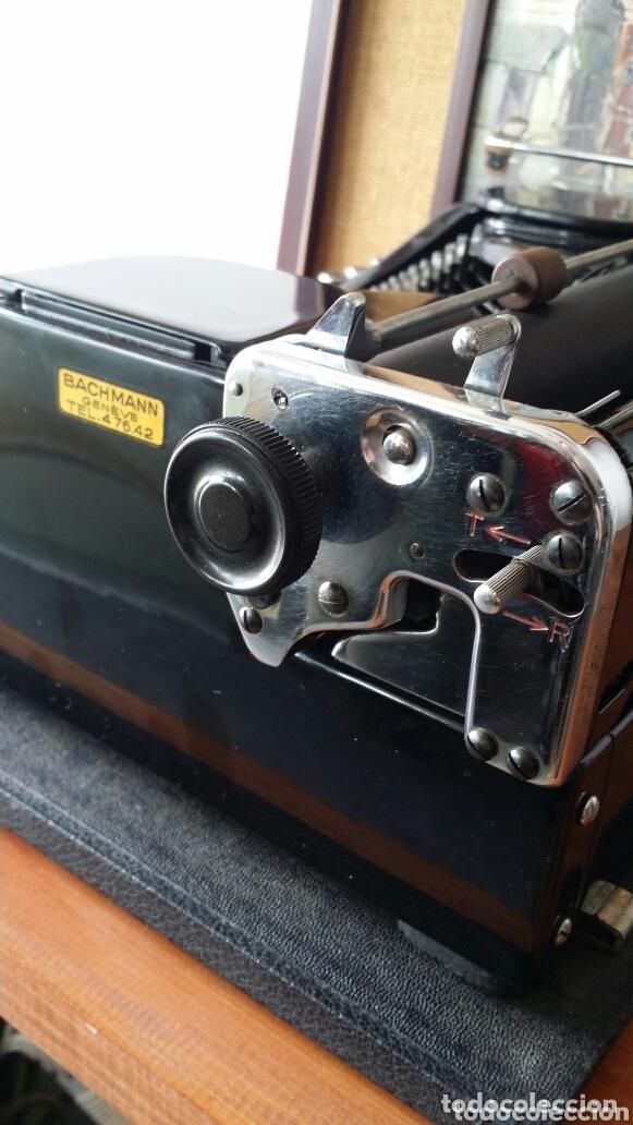 Antigüedades: Máquina de escribir Mercedes 1934 - Foto 4 - 172352260