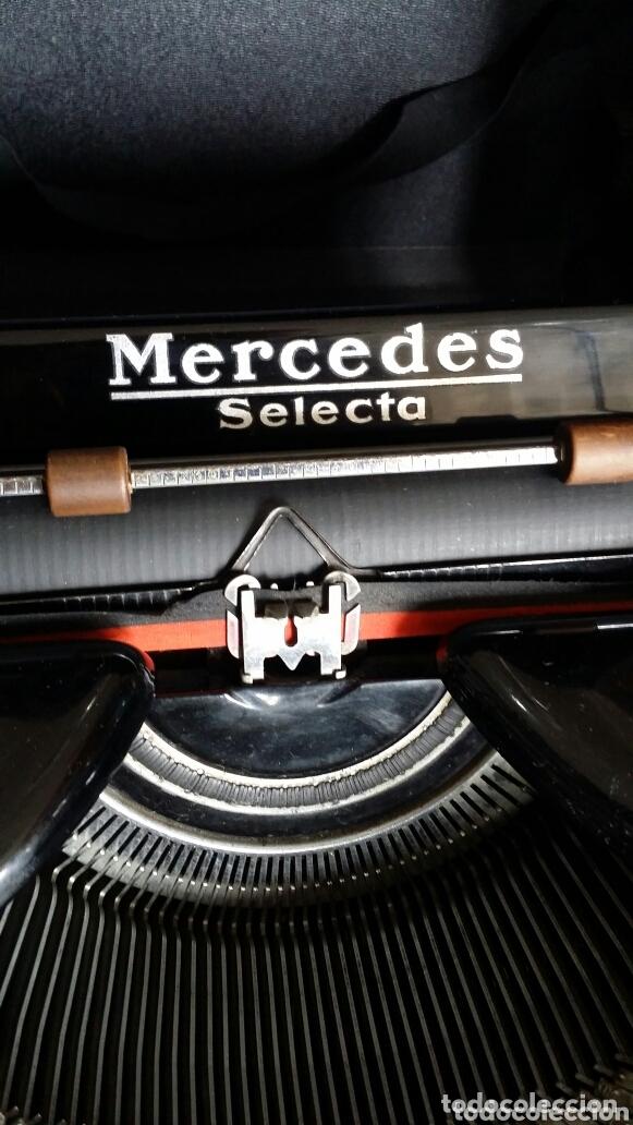 Antigüedades: Máquina de escribir Mercedes 1934 - Foto 6 - 172352260