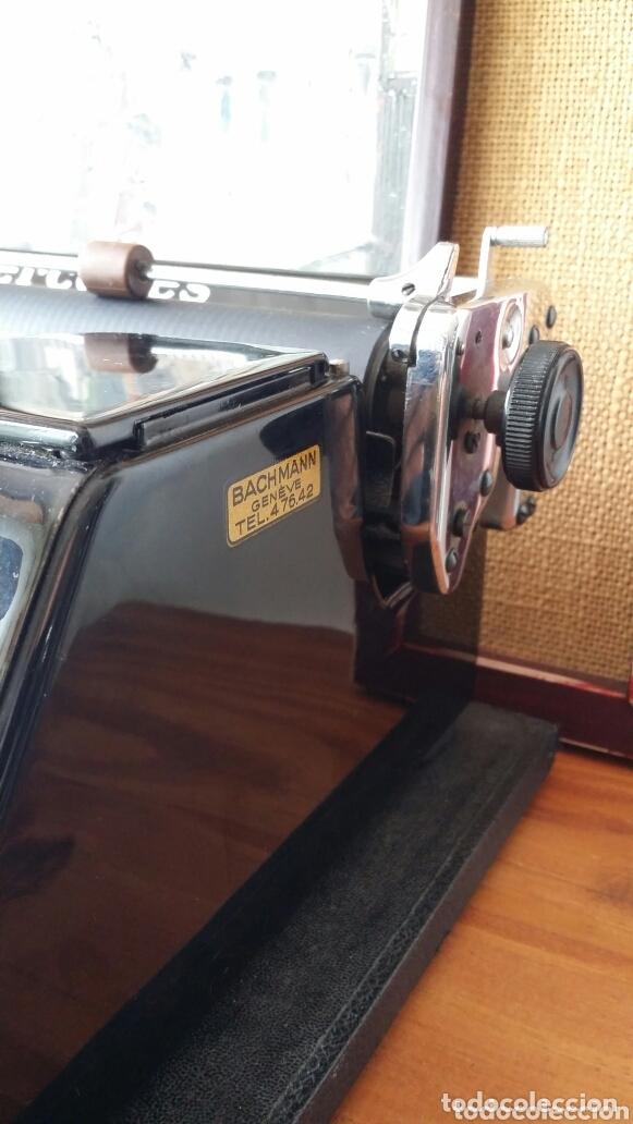 Antigüedades: Máquina de escribir Mercedes 1934 - Foto 11 - 172352260