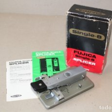 Antigüedades: EMPALMADORA FUJICA SINGLE 8 / SUPER 8 MM SPLICER - MADE IN JAPAN. Lote 172420257