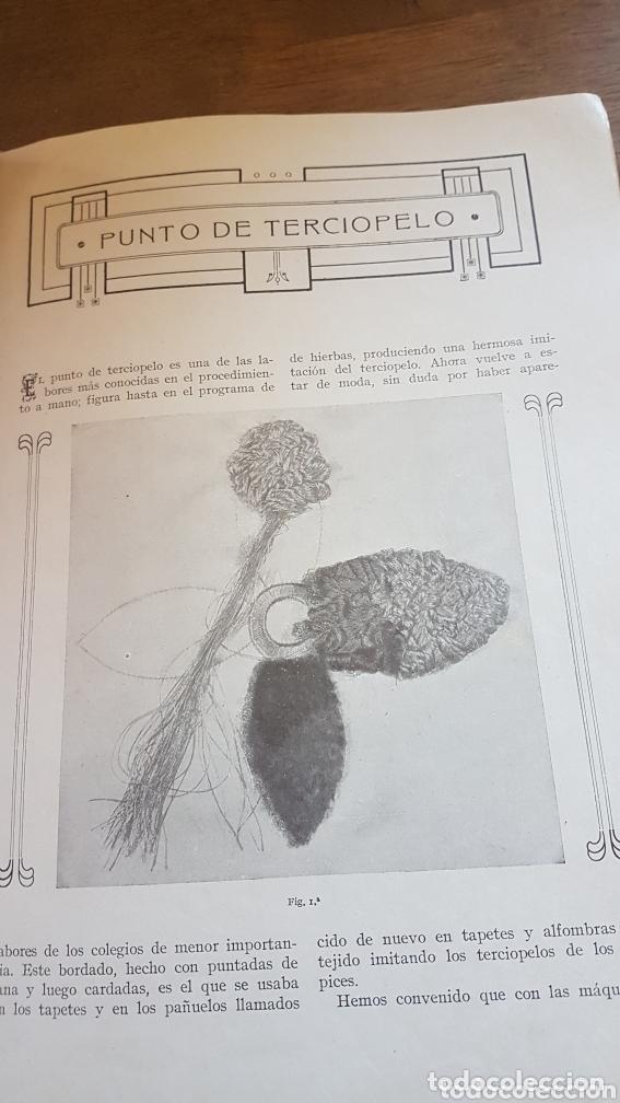 Antigüedades: Libro antiguo instrucciones para bordar coser con máquina Singer - Foto 4 - 172471280