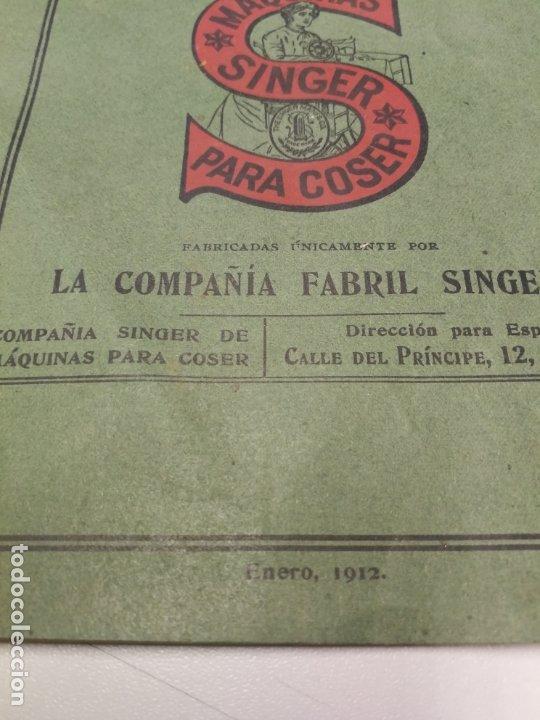 Antigüedades: CATALOGO MAQUINAS DE COSER SINGER Nº 28 M ENERO DE 1912 - Foto 2 - 172539292
