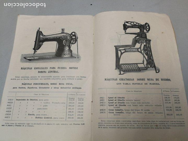 Antigüedades: CATALOGO MAQUINAS DE COSER SINGER Nº 28 M ENERO DE 1912 - Foto 3 - 172539292
