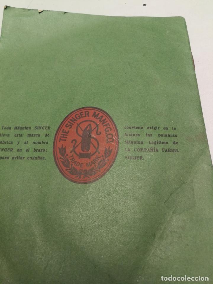 Antigüedades: CATALOGO MAQUINAS DE COSER SINGER Nº 28 M ENERO DE 1912 - Foto 5 - 172539292