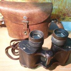 Antigüedades: PRISMATICOS MILITARES 1928 - CARL ZEISS JENA NEDINSCO 8X30 - FUNDA ORIGINAL. Lote 172608764