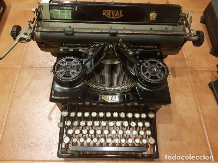 MÁQUINA DE ESCRIBIR ROYAL (U.S.A.) FUNCIONANDO (Antigüedades - Técnicas - Máquinas de Escribir Antiguas - Royal)
