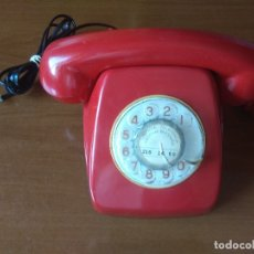 Teléfonos: TELÉFONO HERALDO ROJO, ORIGINAL CITESA, ENVÍO GRATIS, ADAPTADO Y FUNCIONANDO. Lote 172701210