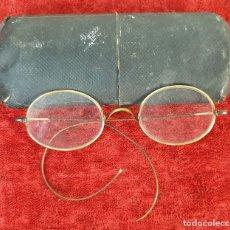 Antigüedades: GAFAS PARA VER. ESTILO QUEVEDO. METAL CHAPADO EN ORO DE 14 KT. SIGLO XIX-XX. . Lote 172735462