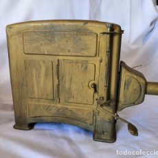 Antigüedades: ANTIGUO PROYECTOR DE CINE DE HOJALATA MUY GRANDE. Lote 172773773