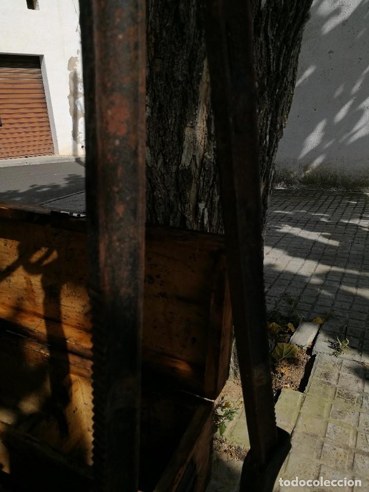 Antigüedades: BASCULA BALANZA ROMANA SIGLO XIX PARA PESAR TONELES-BARRICAS-BOTAS DE VINO VITICULTURA--REF-DC - Foto 15 - 172783698