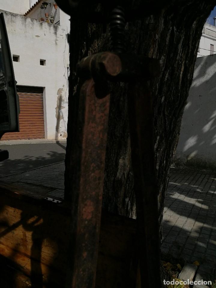 Antigüedades: BASCULA BALANZA ROMANA SIGLO XIX PARA PESAR TONELES-BARRICAS-BOTAS DE VINO VITICULTURA--REF-DC - Foto 16 - 172783698
