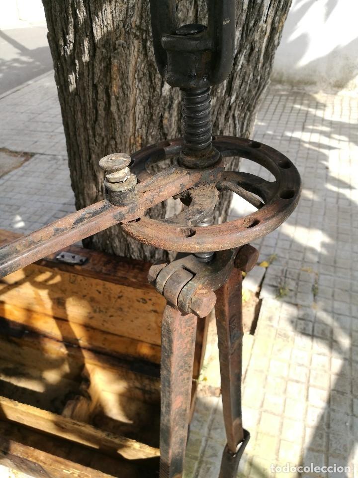 Antigüedades: BASCULA BALANZA ROMANA SIGLO XIX PARA PESAR TONELES-BARRICAS-BOTAS DE VINO VITICULTURA--REF-DC - Foto 17 - 172783698