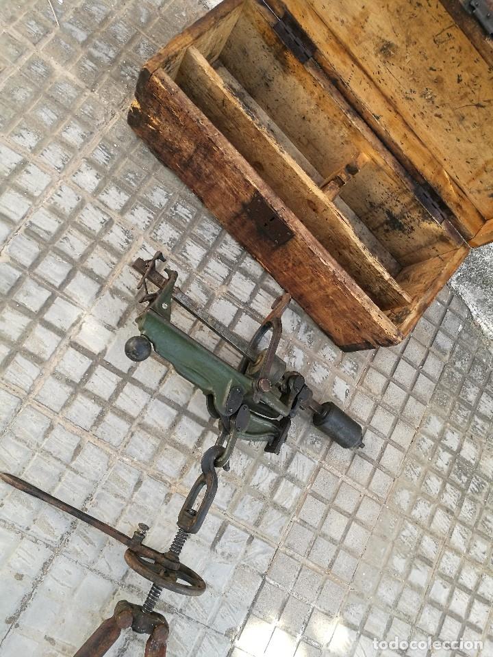 Antigüedades: BASCULA BALANZA ROMANA SIGLO XIX PARA PESAR TONELES-BARRICAS-BOTAS DE VINO VITICULTURA--REF-DC - Foto 23 - 172783698