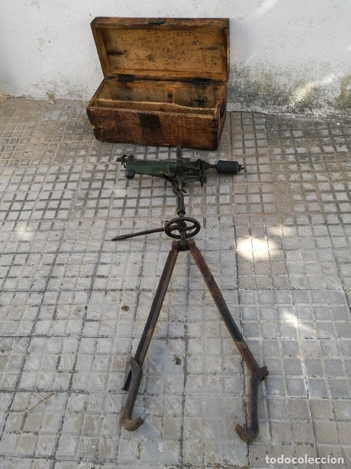 Antigüedades: BASCULA BALANZA ROMANA SIGLO XIX PARA PESAR TONELES-BARRICAS-BOTAS DE VINO VITICULTURA--REF-DC - Foto 25 - 172783698