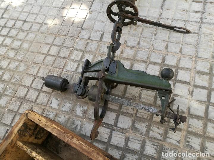 Antigüedades: BASCULA BALANZA ROMANA SIGLO XIX PARA PESAR TONELES-BARRICAS-BOTAS DE VINO VITICULTURA--REF-DC - Foto 31 - 172783698