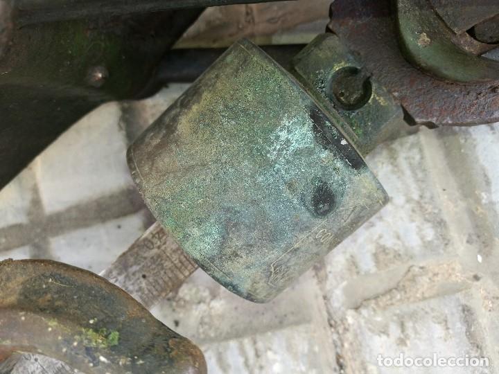 Antigüedades: BASCULA BALANZA ROMANA SIGLO XIX PARA PESAR TONELES-BARRICAS-BOTAS DE VINO VITICULTURA--REF-DC - Foto 55 - 172783698