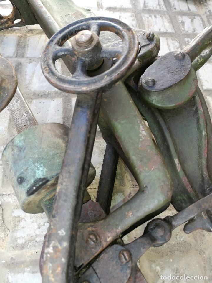 Antigüedades: BASCULA BALANZA ROMANA SIGLO XIX PARA PESAR TONELES-BARRICAS-BOTAS DE VINO VITICULTURA--REF-DC - Foto 58 - 172783698
