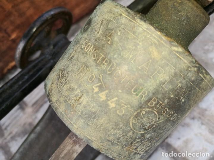 Antigüedades: BASCULA BALANZA ROMANA SIGLO XIX PARA PESAR TONELES-BARRICAS-BOTAS DE VINO VITICULTURA--REF-DC - Foto 63 - 172783698