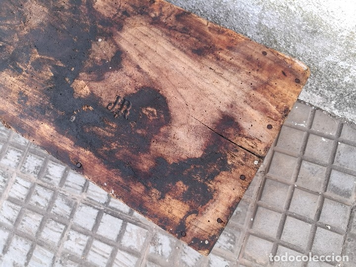 Antigüedades: BASCULA BALANZA ROMANA SIGLO XIX PARA PESAR TONELES-BARRICAS-BOTAS DE VINO VITICULTURA--REF-DC - Foto 72 - 172783698