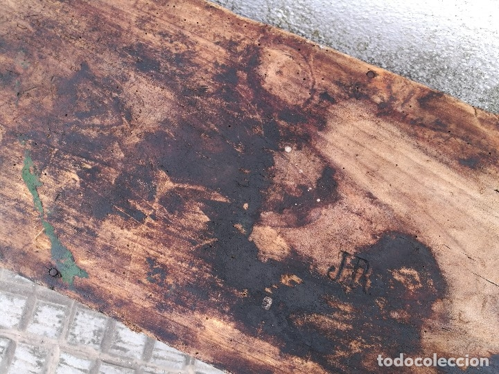 Antigüedades: BASCULA BALANZA ROMANA SIGLO XIX PARA PESAR TONELES-BARRICAS-BOTAS DE VINO VITICULTURA--REF-DC - Foto 73 - 172783698